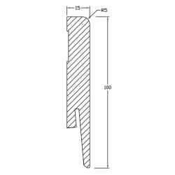Floordreams Vario ''Boulder Oak 5542'' 33 klasė Krono Original laminuotos grindys